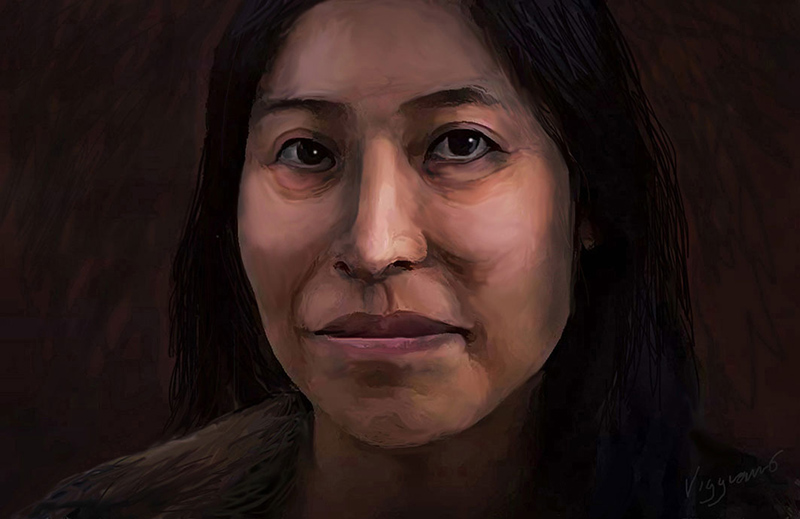 Retrato de Laura Cruz
