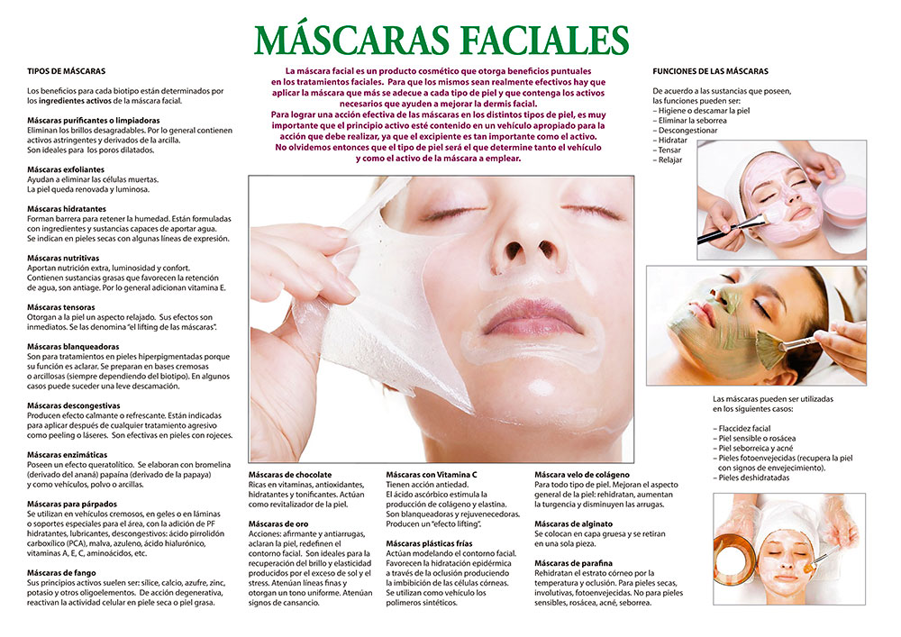 Máscaras faciales